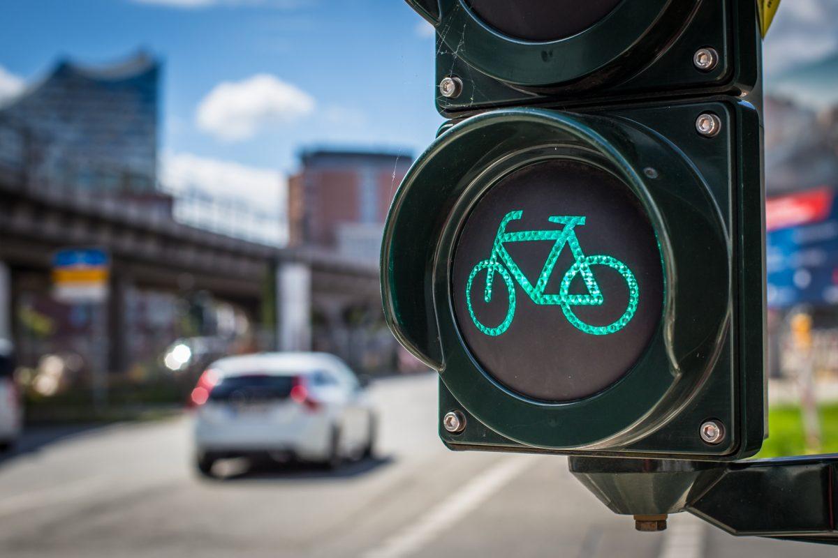Osteoporoseprophylaxe: Radfahren in Hamburg ist besser als sein Ruf