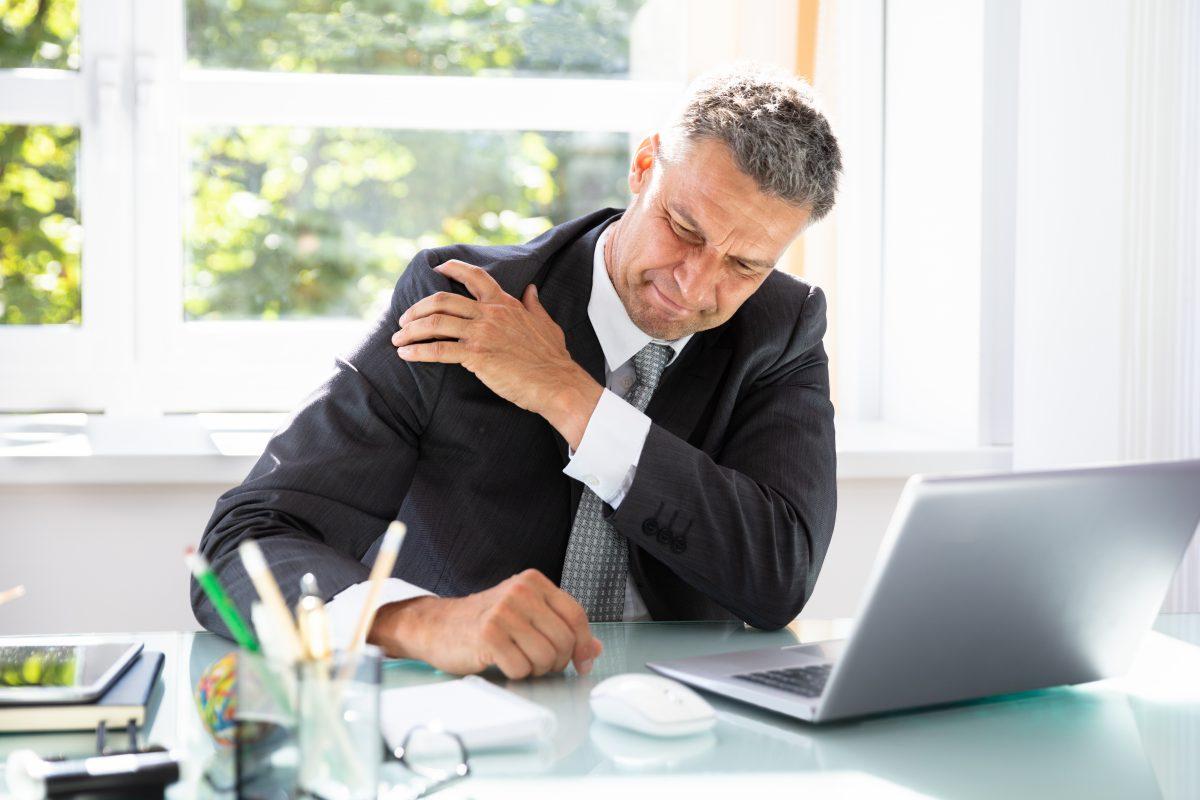 Wie werde ich meinen Schulterschmerz los?
